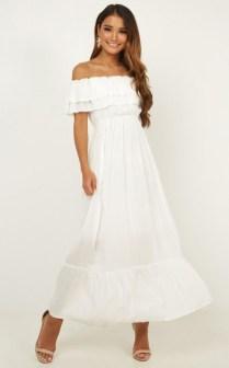 Cozy Open Shoulders Dresses Ideas For Summer05