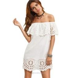 Cozy Open Shoulders Dresses Ideas For Summer20