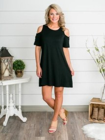 Cozy Open Shoulders Dresses Ideas For Summer29