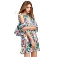 Cozy Open Shoulders Dresses Ideas For Summer34