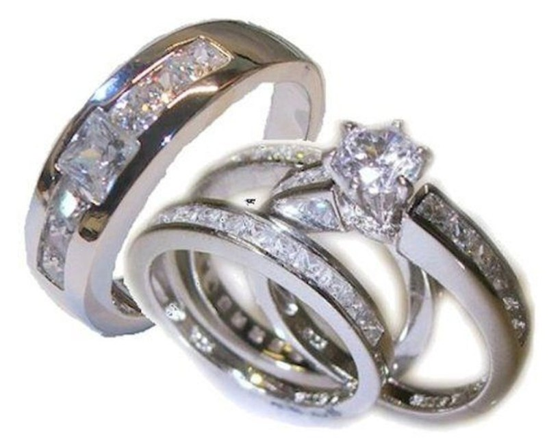 Creative Wedding Ring Sets Ideas For Bride And Groom06