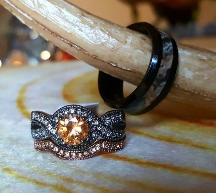 Creative Wedding Ring Sets Ideas For Bride And Groom21