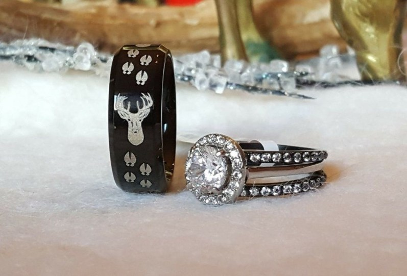 Creative Wedding Ring Sets Ideas For Bride And Groom31