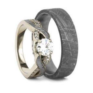 Creative Wedding Ring Sets Ideas For Bride And Groom38