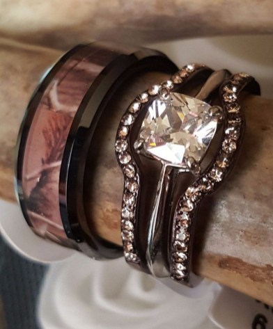 Creative Wedding Ring Sets Ideas For Bride And Groom43