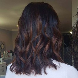 Elegant Dark Brown Hair Color Ideas With Highlights03