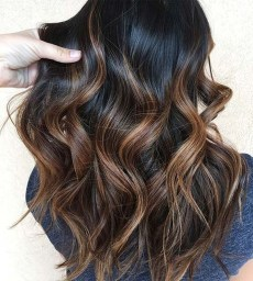 Elegant Dark Brown Hair Color Ideas With Highlights12