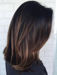 Elegant Dark Brown Hair Color Ideas With Highlights13