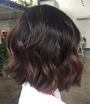 Elegant Dark Brown Hair Color Ideas With Highlights27