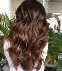 Elegant Dark Brown Hair Color Ideas With Highlights39