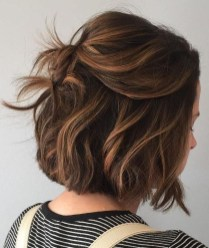 Elegant Dark Brown Hair Color Ideas With Highlights40