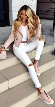 Excellent Spring Fashion Outfits Ideas For Teen Girls37