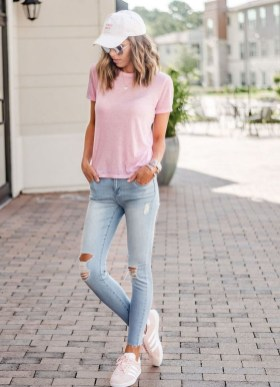 Excellent Spring Fashion Outfits Ideas For Teen Girls42