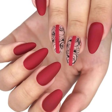Extraordinary Red Nail Trends Ideas For This Year08
