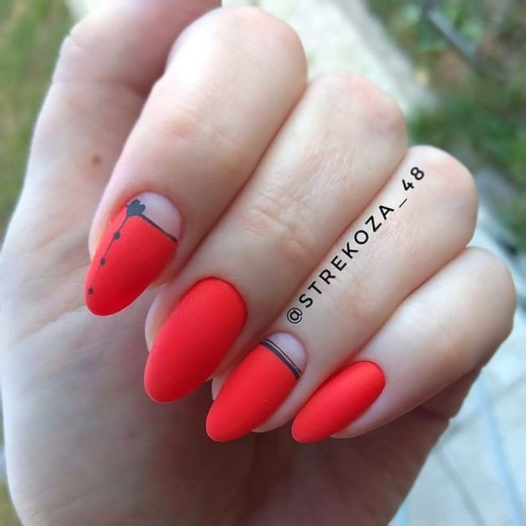 Extraordinary Red Nail Trends Ideas For This Year09