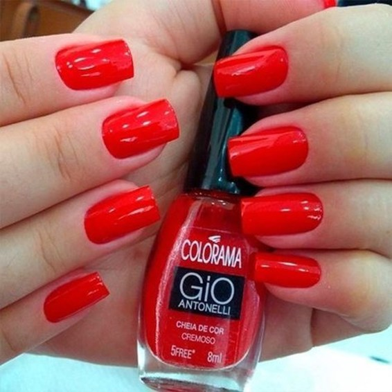 Extraordinary Red Nail Trends Ideas For This Year27