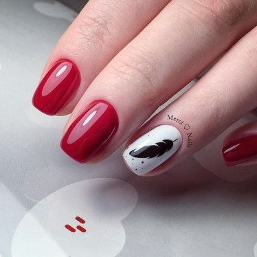 Extraordinary Red Nail Trends Ideas For This Year33