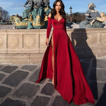 Fascinating Red Dress Ideas32