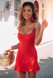 Fascinating Red Dress Ideas34