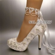 Lovely Wedding Shoe Ideas To Get Inspired03
