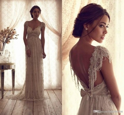 Newest Lace Sweetheart Wedding Dresses Ideas For Spring07