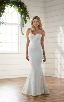 Newest Lace Sweetheart Wedding Dresses Ideas For Spring16