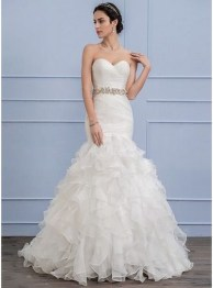 Newest Lace Sweetheart Wedding Dresses Ideas For Spring49