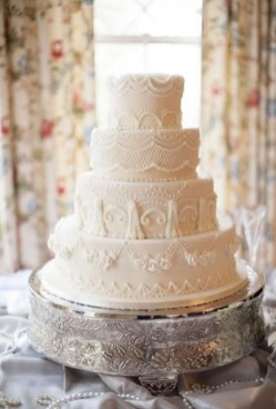 Pretty Wedding Cake Ideas For Old Fashioned07