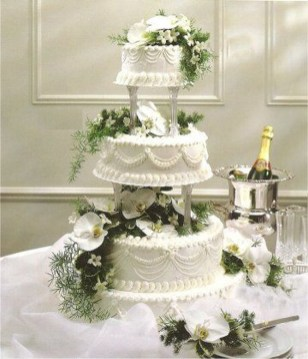 Pretty Wedding Cake Ideas For Old Fashioned42