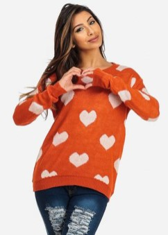 Unusual Orange Outfit Ideas For Women23