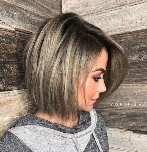 Brilliant Bob And Lob Hairstyles Ideas For Short Hair11