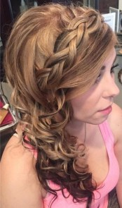 Classy Curly Hairstyles Design Ideas For Teenage In 201939