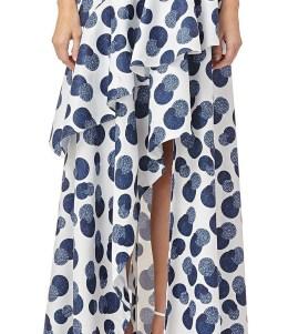 Delicate Polka Dot Maxi Skirt Ideas For Reunion31