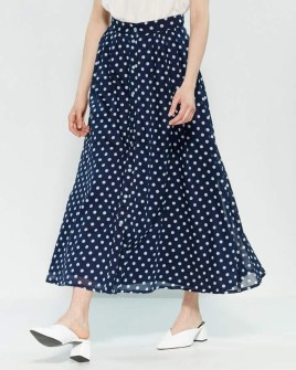 Delicate Polka Dot Maxi Skirt Ideas For Reunion42