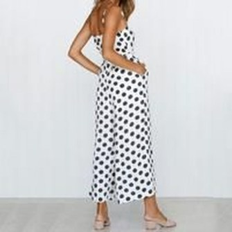 Delicate Polka Dot Maxi Skirt Ideas For Reunion43