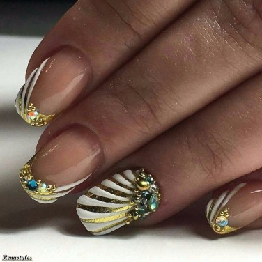 Gorgeous Nail Designs Ideas In Summer For Women02
