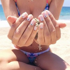 Gorgeous Nail Designs Ideas In Summer For Women32