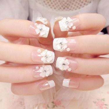 Inspiring Nail Art Ideas For Wedding Party03