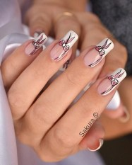 Inspiring Nail Art Ideas For Wedding Party05