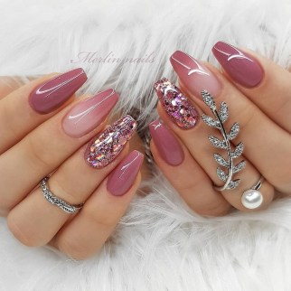 Inspiring Nail Art Ideas For Wedding Party28