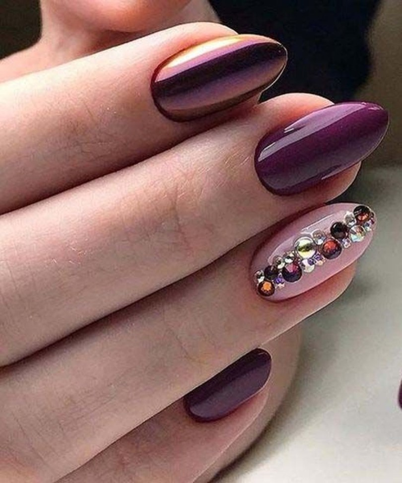 Inspiring Nail Art Ideas For Wedding Party31