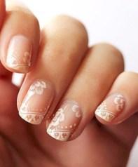 Inspiring Nail Art Ideas For Wedding Party36