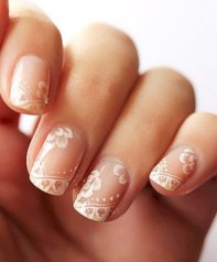 Inspiring Nail Art Ideas For Wedding Party36