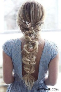 Rustic Hairstyle Ideas For Wedding05