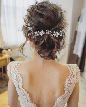 Rustic Hairstyle Ideas For Wedding08