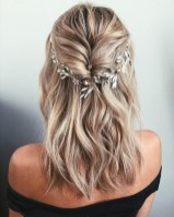 Rustic Hairstyle Ideas For Wedding26