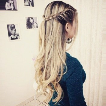 Rustic Hairstyle Ideas For Wedding28