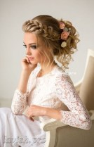 Rustic Hairstyle Ideas For Wedding29