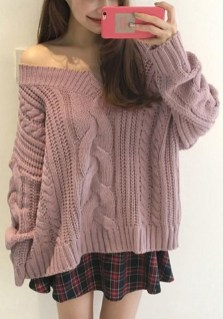 Affordable Women Outfit Ideas For Summer With Sweaters03