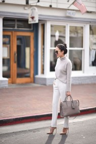 Charming Winter Outfits Ideas To Go To Office37